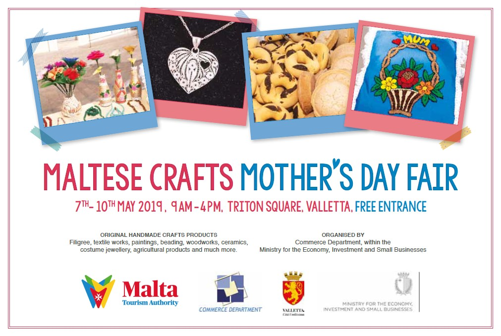 Maltese Crafts Mother's Day Fair